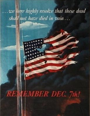Remember Pearl Harbor - Attack on Pearl Harbor December 7