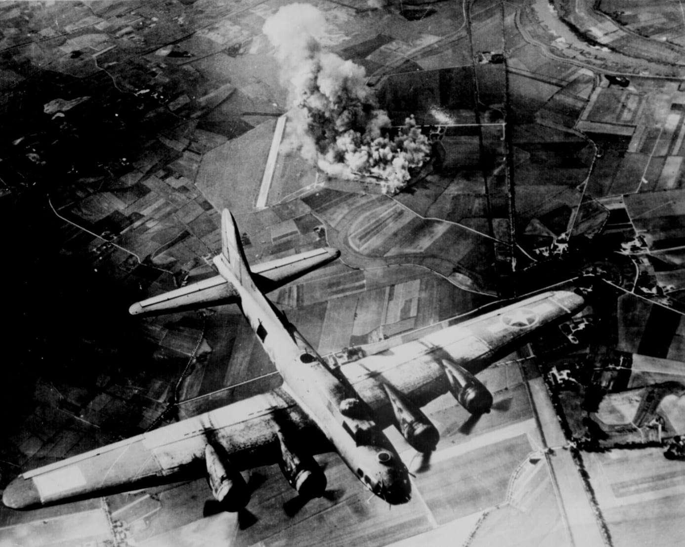 World War II Today: January 27 - B-17 over Wilhelmshaven
