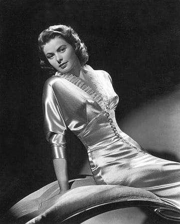 Ingrid Bergman Glamour Shot
