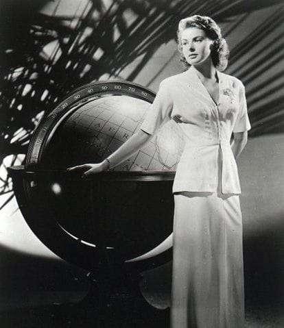 Ingrid Bergman Globe
