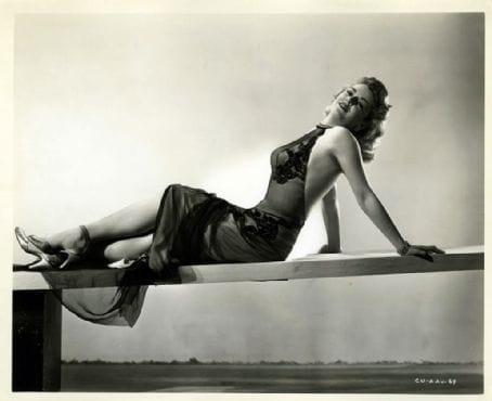 Claire Trevor WWII Yank Magazine Pin Up