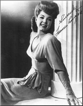 Frances Langfor Autograph