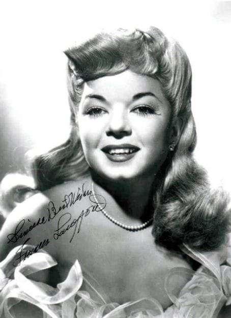 Frances Langford Portrate