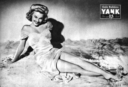 Gale Robbins Yank Pin Up April 21, 1944