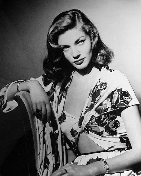Sultry Lauren Bacall
