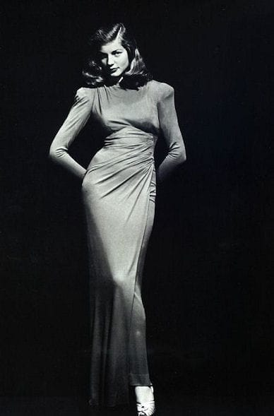 Sultry Glamorous Lauren Bacall