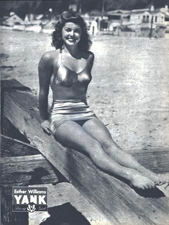 Esther Williams - YANK Pin-up Girl Oct. 12, 1945