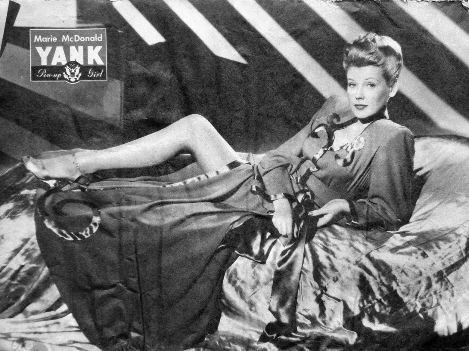 Marie McDonald YANK 25 Aug 1944