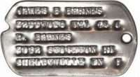 Bucky Barnes Dog Tags