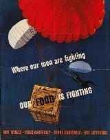 WW2 Dog Tags - Where our men are fighting our food is fighting -WW2 Poster' width=