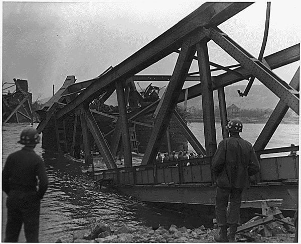 World War II Today: March 17 - Remagan Bridge Collapse