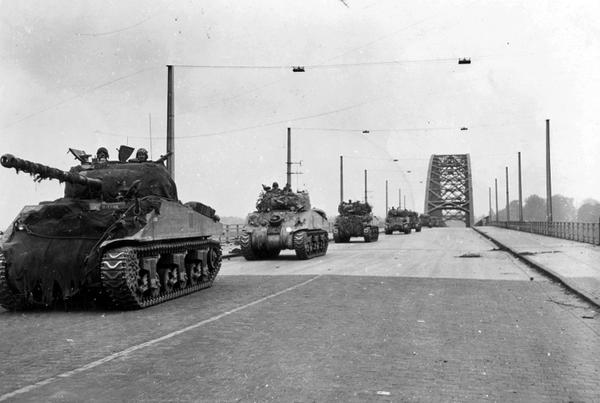 World War II Today: September 20 - XXX Corps Crossing Nijmegen Bridge