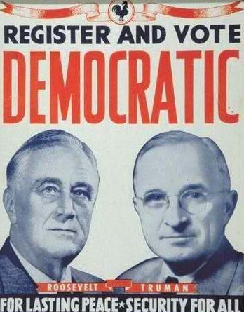 President Roosevelt Reelection - World War II Today November 7