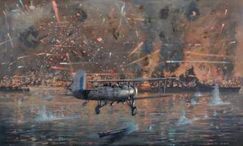 World War II Today: November 10 - Torpedo attack Taranto Italy