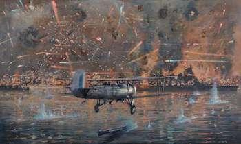 World War II Today: November 10 - Torpedo attack Taranto Italy
