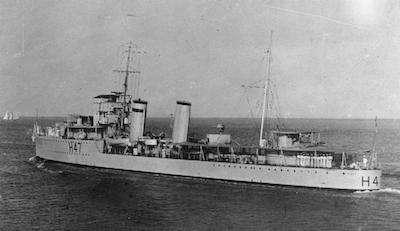 World War II Today: November 13 - HMS Blanche