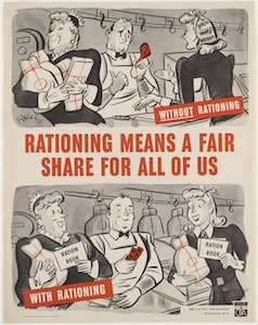 World War II Today: November 23 - US ends rationing of meat and butter.