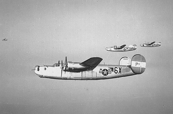 World War II Today: November 26 - US 491st Bombardment Group loses 16 of 28 B-24 Liberators over Misburg, Germany