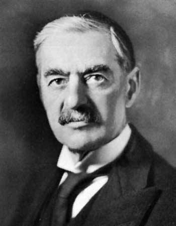 World War II Today: November 21 - Prime Minister Neville Chamberlain