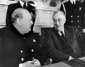 World War II Today: December 22 - Churchill vists the White House