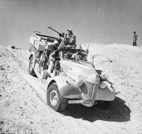 World War II Today: December 1 - First attack by British Long Range Desert Group (LRDG)