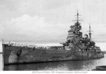 World War II Today: December 2 - Battleship Prince of Wales
