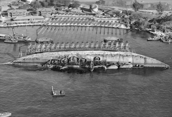 World War II Today: December 6 - USS Oklahoma