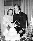 World War II Today: January 6 - Lt. (j.g.) George H.W. Bush marries Barbara Pierce