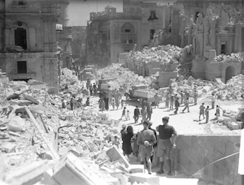 World War II Today: January 16 - German's Bomb Malta