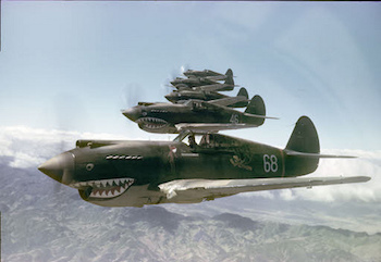 World War II Today: January 24 - Flying Tigers P-40B