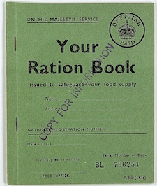 World War II Today: January 8 - British Ration Book