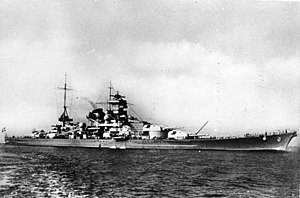World War II Today: February 4 - Battleship Scharnhorst