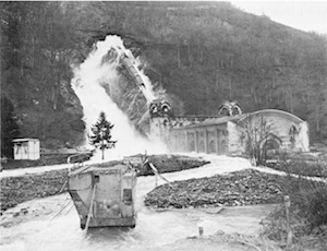 World War II Today: February 7 - German's blow up dams