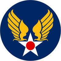 World War II Today: February 23 - Army Air Force Patch