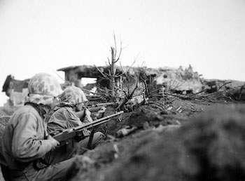 World War II Today: February 24 - Bunkhouse Second Airfield on Iwo Jima