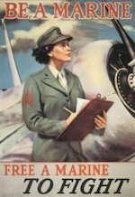 World War II Today: February 13 - US Marine Corps Women's Reserve officially established