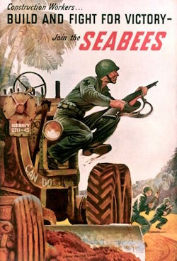 World War II Today: February 17, 1942 First SEABEES arrive in the Pacific