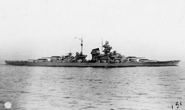 World War II Today: March 2 - Battleship Tripitz