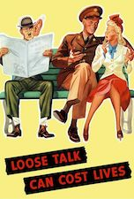 World War II Today: March 18 - Loose Talk Can Cost Lives