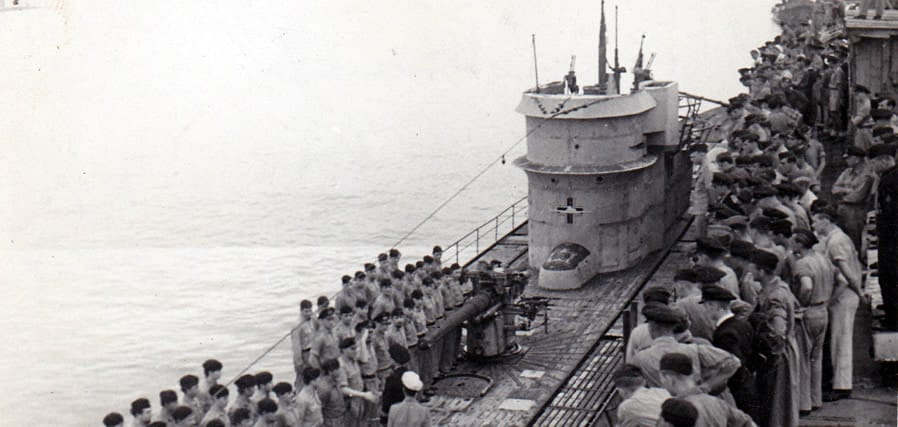 World War II Today: March 9 - U-510 in Lorient