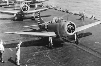 World War II Today: March 4 - USS Enterprise Dive Bombers