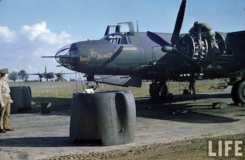 World War II Today: March 25 - B 26 Bomber