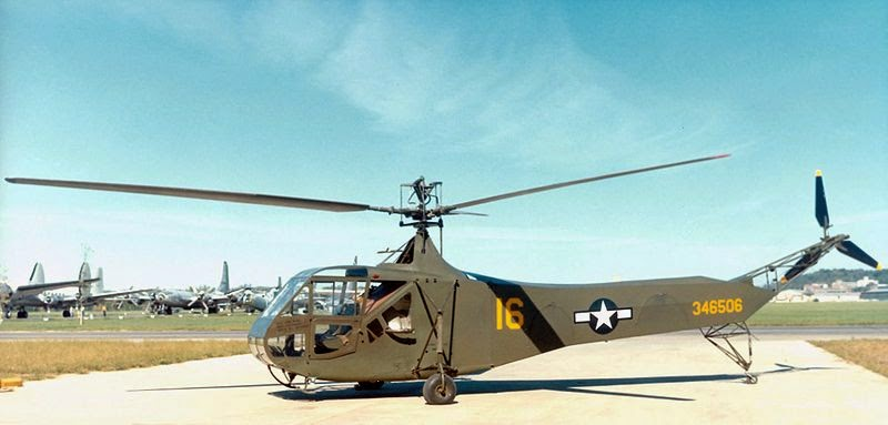 Sikorsky R-4B Helicopter at National Museum of the United States Air Force