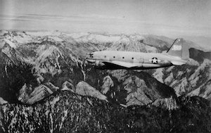 "World War II Today: April 22 - US Tenth Air Force begins regular air supply service over the ""Hump"" between India and China and begins evacuating 4500 personnel from Burma to India."