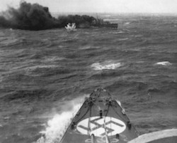 World War II Today: April 8 - HMS Glowworm sunk my German ship Admiral Hipper