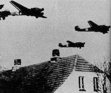 World War II Today: April 9 - Ju 52s over Denmark