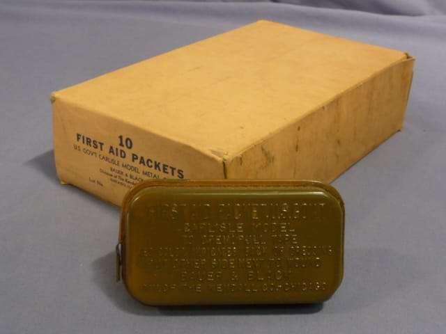 Green WWII Carlisle Bandage