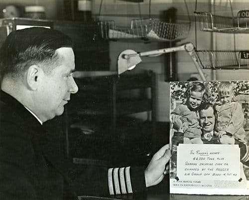 World War II Today: April 25 - USS Ranger commander Gordon Rowe