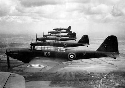 Fairey Battle Bombers