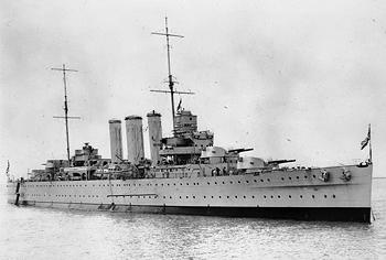 World War II Today: May 8 - British heavy cruiser HMS Cornwall